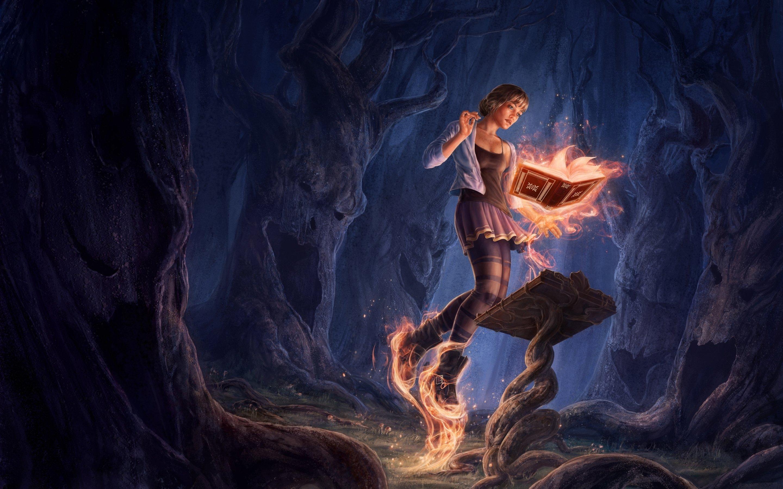 Böcker om magi